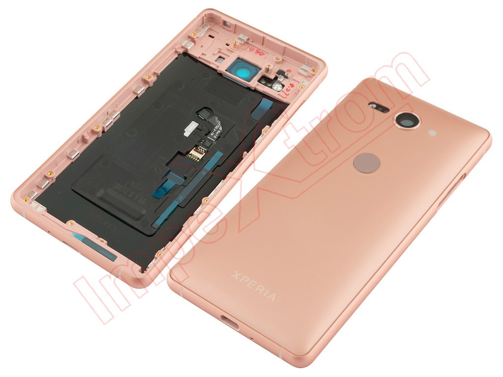 Coral Pink Battery Cover With Frame For Sony Xperia Z2 Compact H8324 Sim Tray
