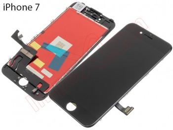 49e44c54239 Pantalla completa PREMIUM (LCD/display + digitalizador/táctil) negra para iPhone  7 de 4.7 pulgadas, A1660, A1778