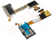 flex-with-lector-of-cards-sim-and-micro-sd-sony-xperia-m2-d2303-d2305-d2306
