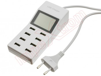 8-usb-ports-superfast-charging-usb-charger-with-display-screen