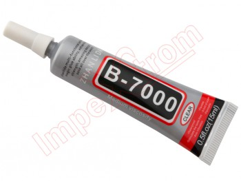 Pegamento transparente B7000 / 15 ml.