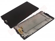 black-full-screen-lcd-display-touch-digitizer-with-front-cover-and-frame-for-lg-x-power-k220