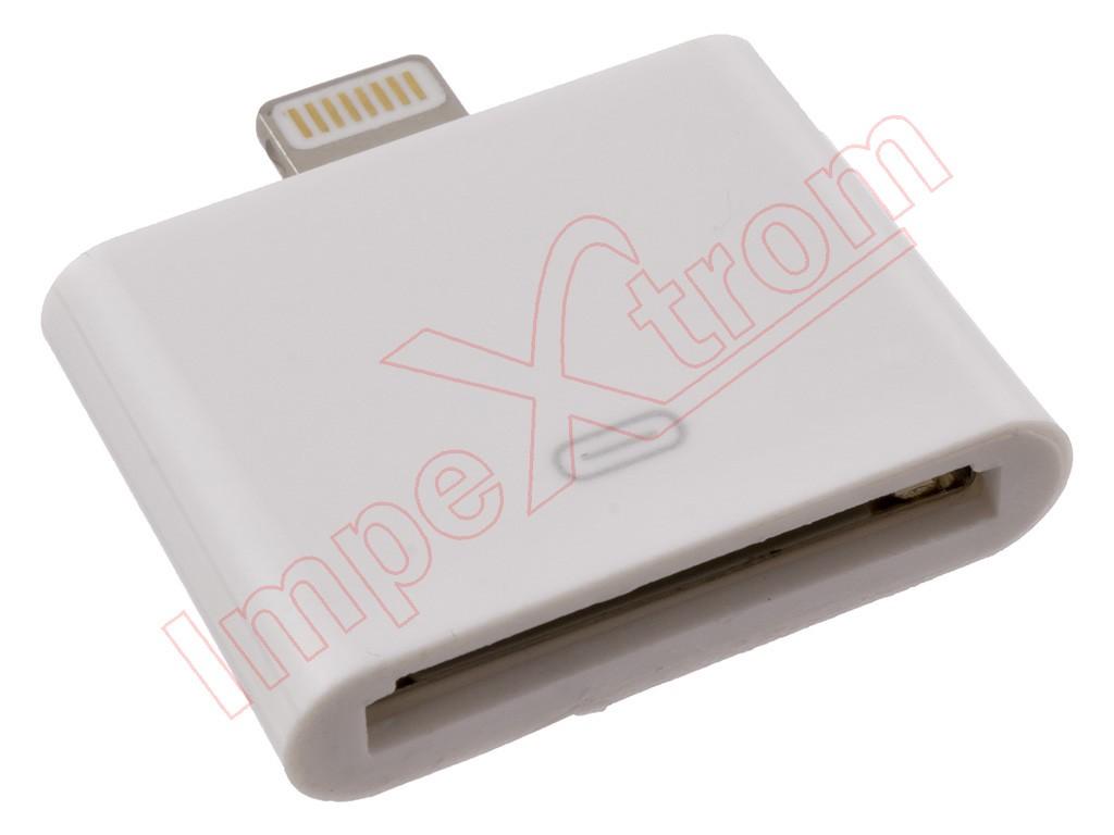 566e5e4e510 Adaptador de 30 pines (Iphone 3G, 3GS, 4, 4S, Ipad 1, 2 y 3, Ipod) a ...