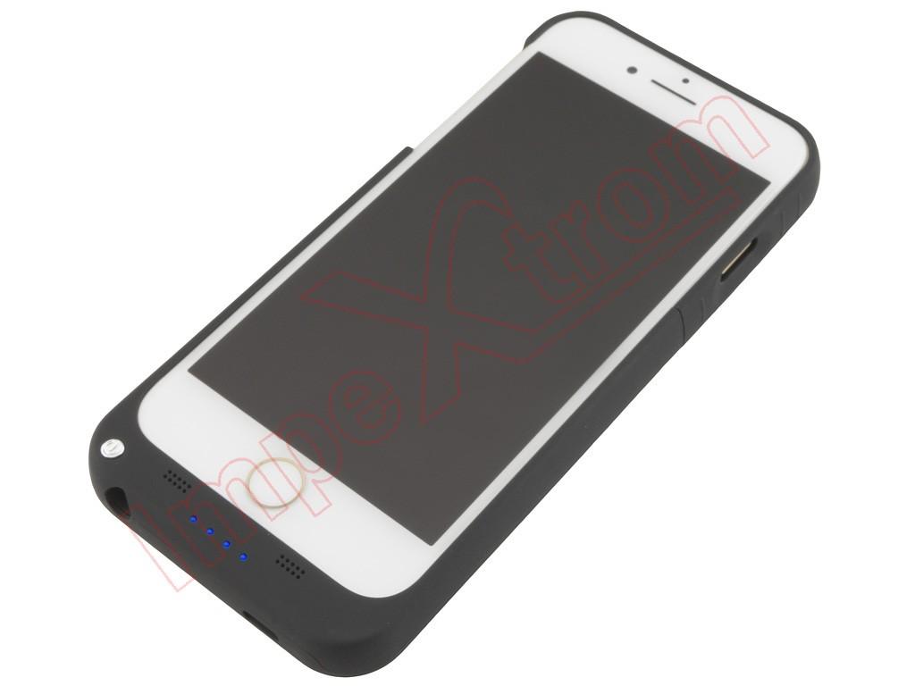 Funda negra con bater a externa para iphone 7 plus de 5 5 for Funda bateria iphone
