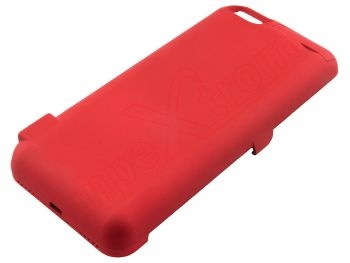 Red battery with case for Phone 6, 6S, 7 - 10000mAh