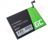 bn31-green-cell-battery-for-xiaomi-redmi-note-5a-xiaomi-mi-a1-redmi-s2-3000mah-3-85v-11-55wh-litio