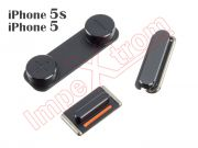black-buttons-set-for-apple-phone-5-5s