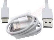 1-meter-white-data-cable-with-usb-to-usb-type-c-connector