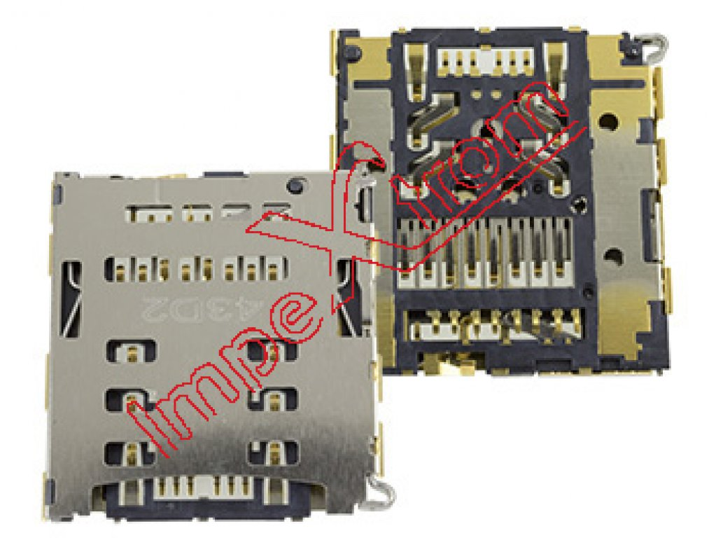 Connector with micro SD card reader Huawei Ascend P7
