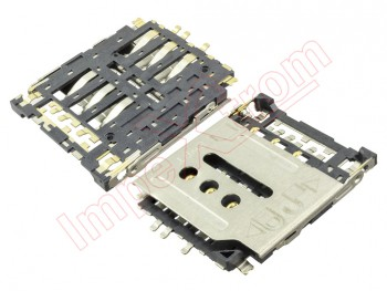 Connector with SIM card reader for Huawei Ascend G6 LTE