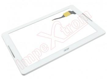 Pantalla táctil blanca con marco tablet Acer Iconia One 10