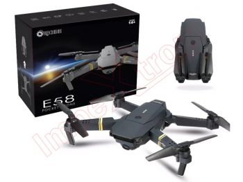 Dron Eachine E58 plegable, Wifi, con cámara 2MP