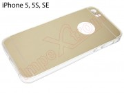 gold-case-with-mirror-effect-for-apple-phone-5-5s-se