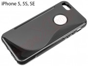 black-tpu-case-with-hole-logo-for-apple-phone-5-5s-se