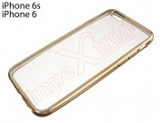 transparent-tpu-case-with-gold-frame-for-apple-phone-6-6s