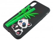 black-tpu-case-with-panda-bear-and-bamboo-for-iphone-x-xs