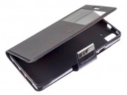 black-agenda-type-case-for-bq-aquaris-e5-4g