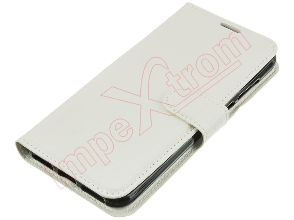 White book case for Huawei Honor 7A / Huawei Y6 2018, ATU
