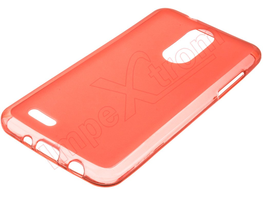 Red TPU case for LG K4 (2017), M160