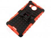 orange-and-black-rigid-tpu-for-microsoft-n950-xl-with-support