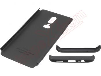 promo code 56bb4 8cd02 Black GKK 360 case for OnePlus 6