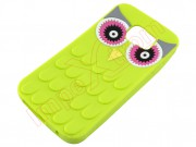 green-case-with-owl-design-for-samsung-galaxy-s6-g920