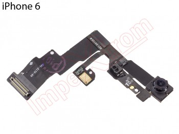 Flex with camera frontal, sensor of proximidad and microphone for Apple Phone 6