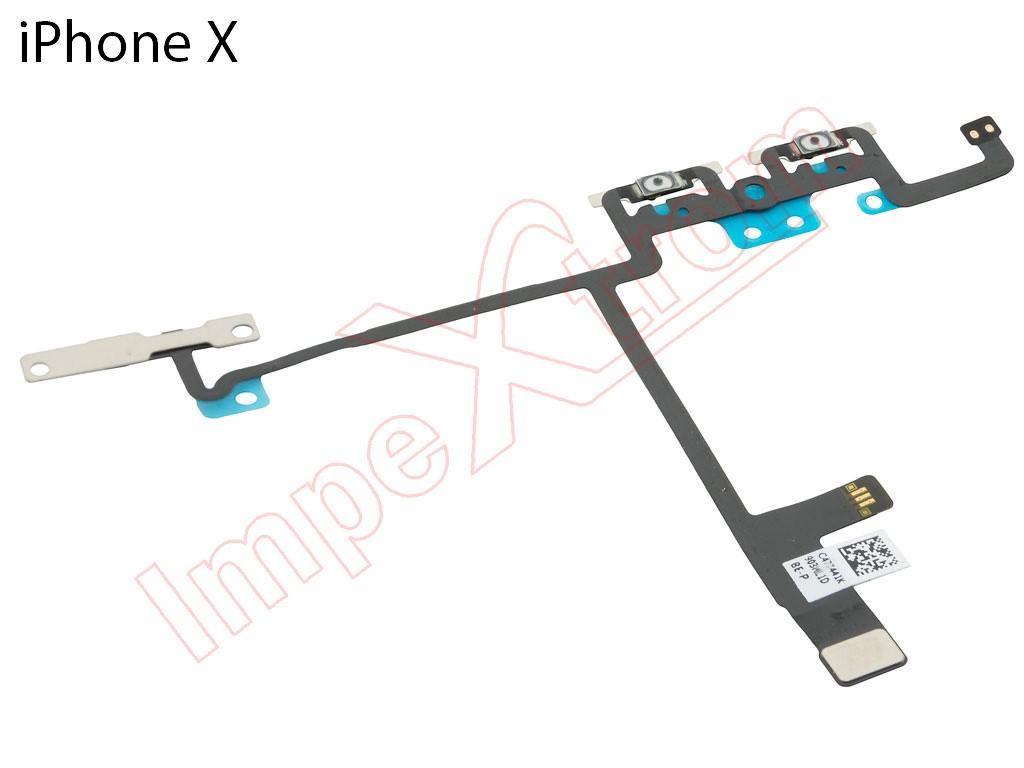 Circuito X : Circuito flex con botones de volumen para iphone x