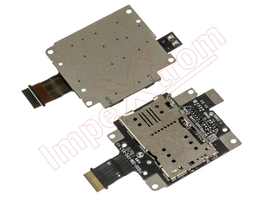 SIM/SD reader connector for tablet Lenovo Tab P10 (TB-X705F)
