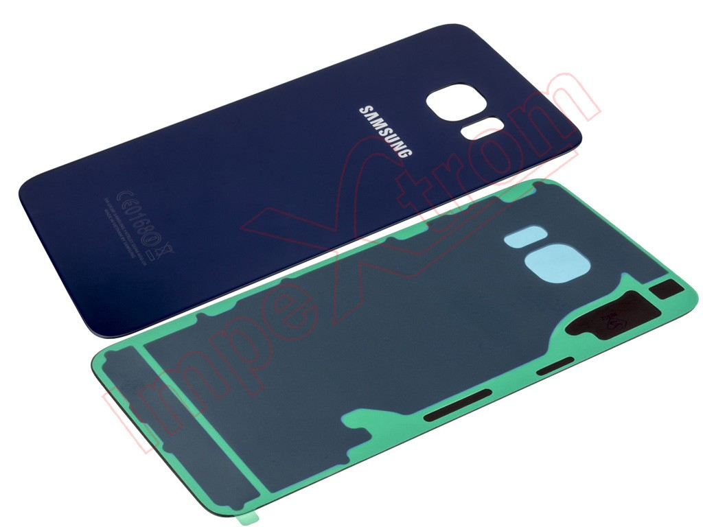0732d038c49 Carcasa trasera color negro / azul zafiro para Samsung Galaxy S6 Edge Plus,  G928F