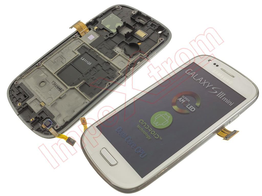 954ef6f32d6 Pantalla para Samsung Galaxy S3 Mini, I8190 blanca
