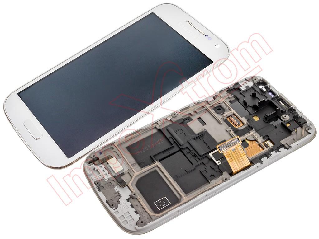 9ad480acd91 Pantalla para Samsung Galaxy S4 Mini LTE, I9195 blanca