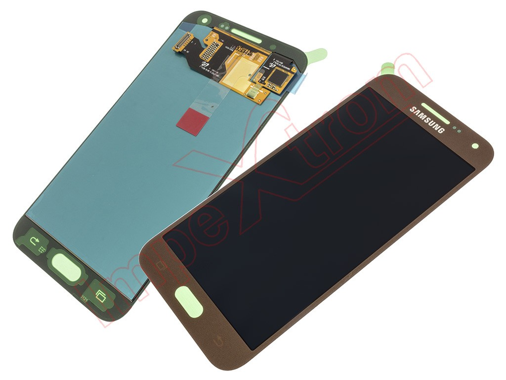 Brown Full Screen Lcd Display Touch Digitizer For Samsung Galaxy E5 E500