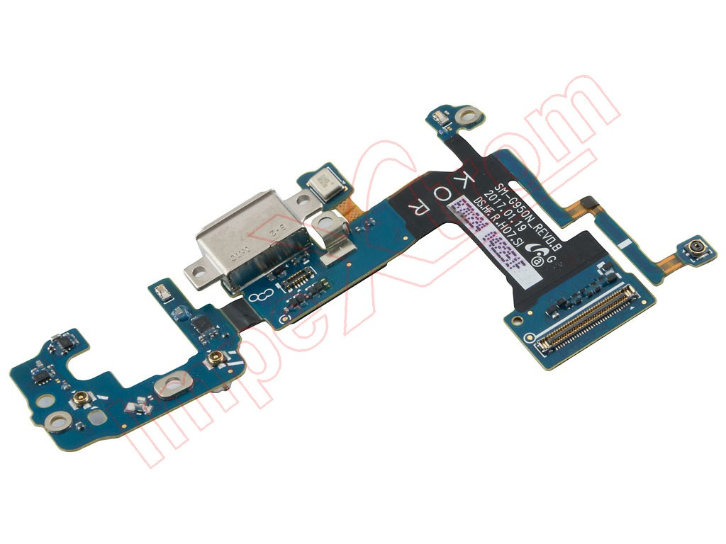 Type C Charge Connector And Antennas Flex For Samsung Galaxy S8 G950f