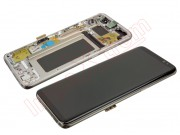 golden-full-screen-lcd-display-touch-digitizer-with-frame-and-housing-for-samsung-galaxy-s8