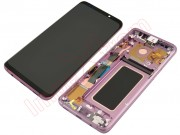 lilac-purple-full-screen-with-frame-lcd-display-touch-digitizer-for-samsung-galaxy-s9-plus-g965f-sd