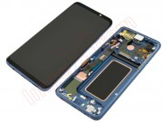 coral-blue-full-screen-with-frame-lcd-display-touch-digitizer-for-samsung-galaxy-s9-plus-g965f-sd