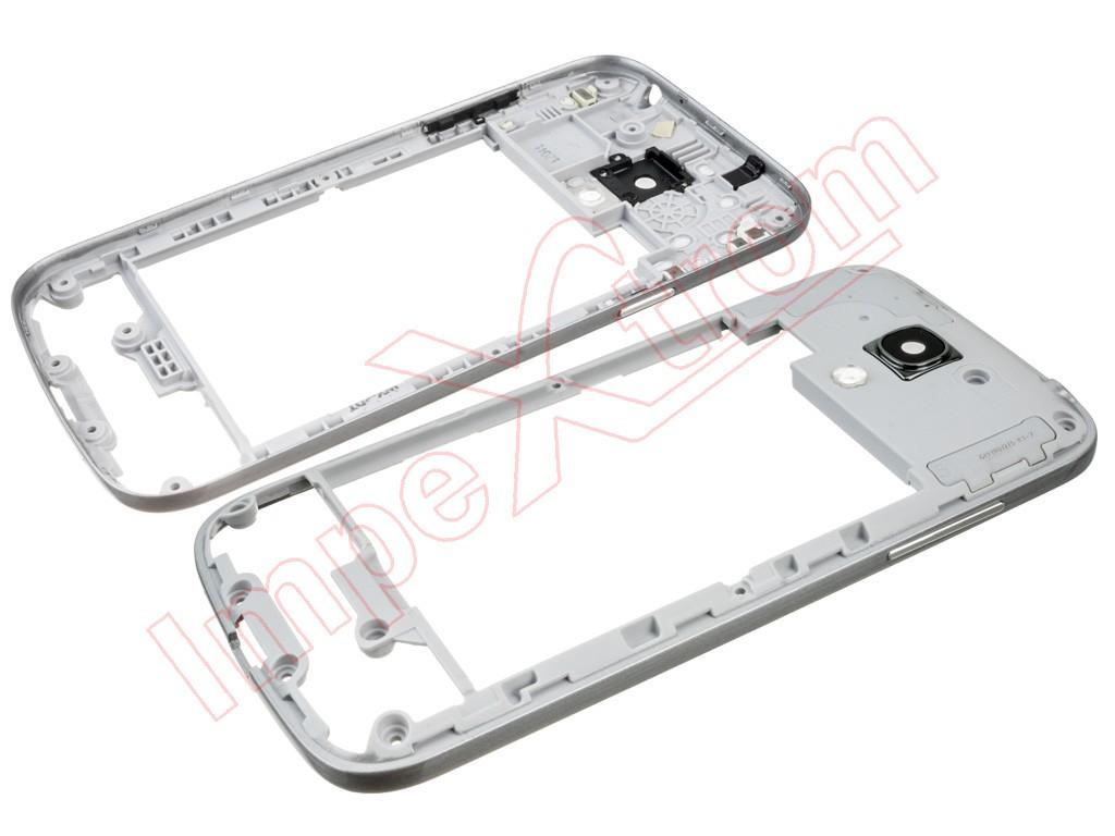 1f2c7e77ec4 Carcasa trasera, chasis negra para Samsung Galaxy S4 Mini LTE, I9195 ...