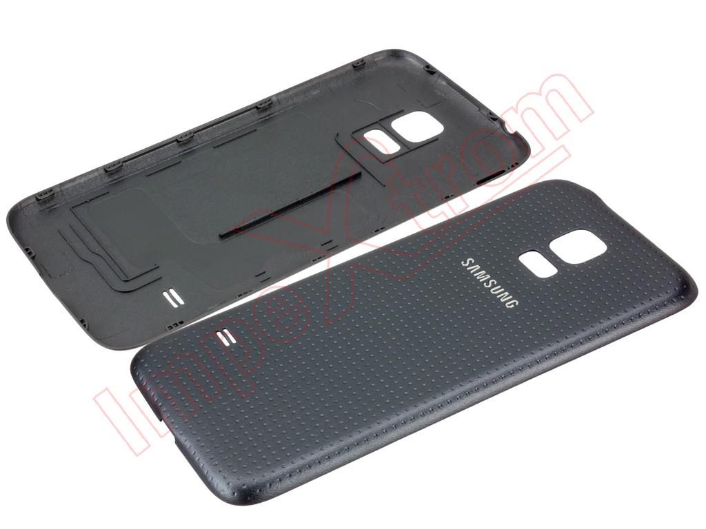 20981b8e26c Carcasa trasera negra para Samsung Galaxy S5 mini, G800F