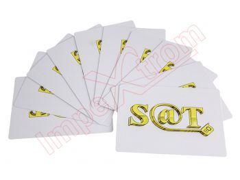 Set of 10 cards opening for tablets and smartphones