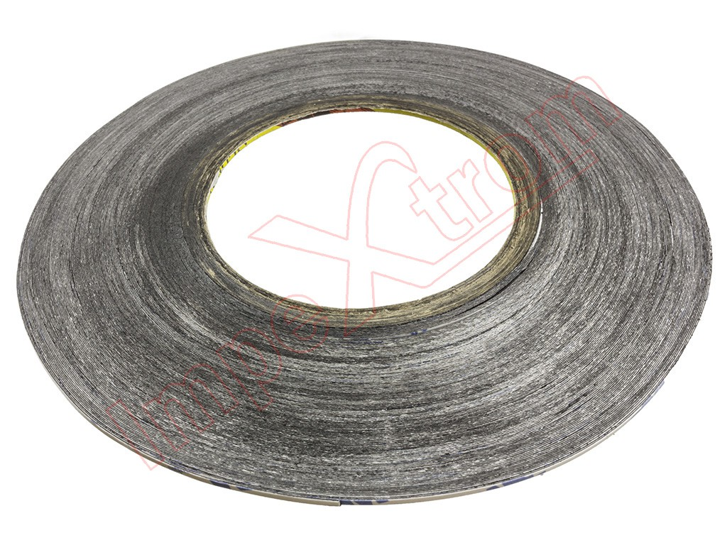 Cinta adhesiva de doble cara negra 3m 50m - Cinta adhesiva 3m doble cara ...