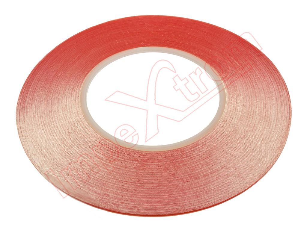 Cinta adhesiva de doble cara transparente 2mm 50m - Cinta adhesiva doble cara transparente ...