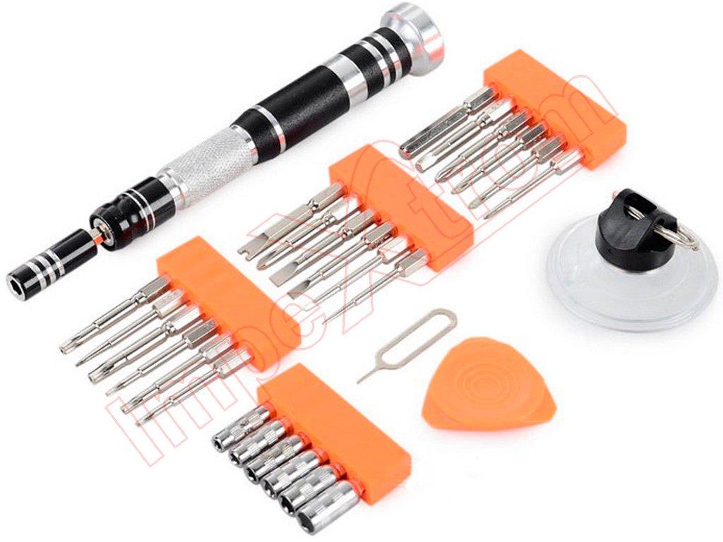 Kit de herramientas jm 8142 con destornillador profesional for Herramientas para cocina profesional