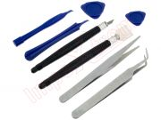 Kit of 16 tools reparations of phones, smartphones, tablets