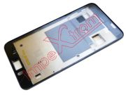 carcasa-frontal-cromada-oscura-alcatel-one-touch-star-6010d