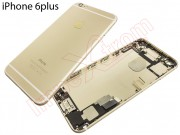 gold-back-housing-with-buttons-sim-tray-and-components-for-apple-phone-6-plus-5-5-inch