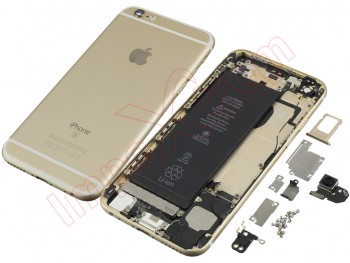 "Gold back cover for Phone 6S 4.7 ""with components, remanufactured"