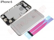 back-silver-housing-with-components-for-apple-phone-6