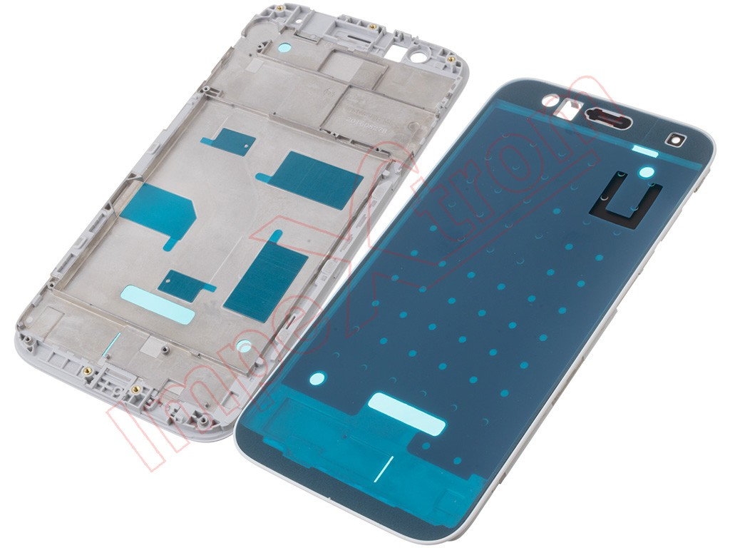 White Central Housing For Huawei G8 Gx8