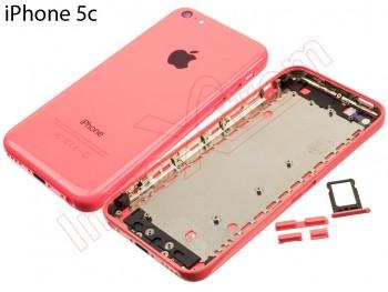 efad4ff1c29 Carcasa trasera, tapa de batería rosa Iphone 5C